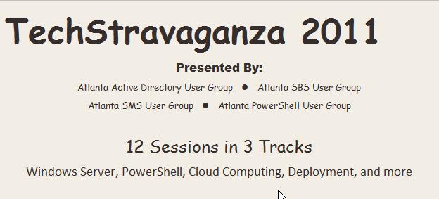 TechStravaganza 2011
